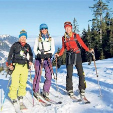 Recommended - Skiing in Engelberg: girl power in the Swiss Alps
